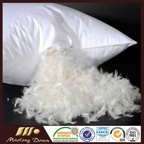 2 4cm plumas de ganso blanco para la venta cojines almohadas de