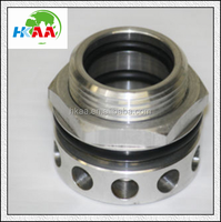 New OEM factory Aluminum Valve Cover Breather baffle filter housing special custom service provided