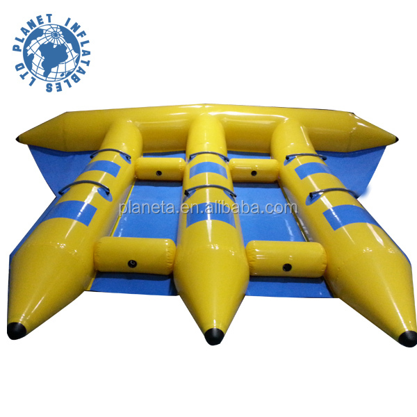 Summer Water Toy Flying Inflatable Boat For Sale