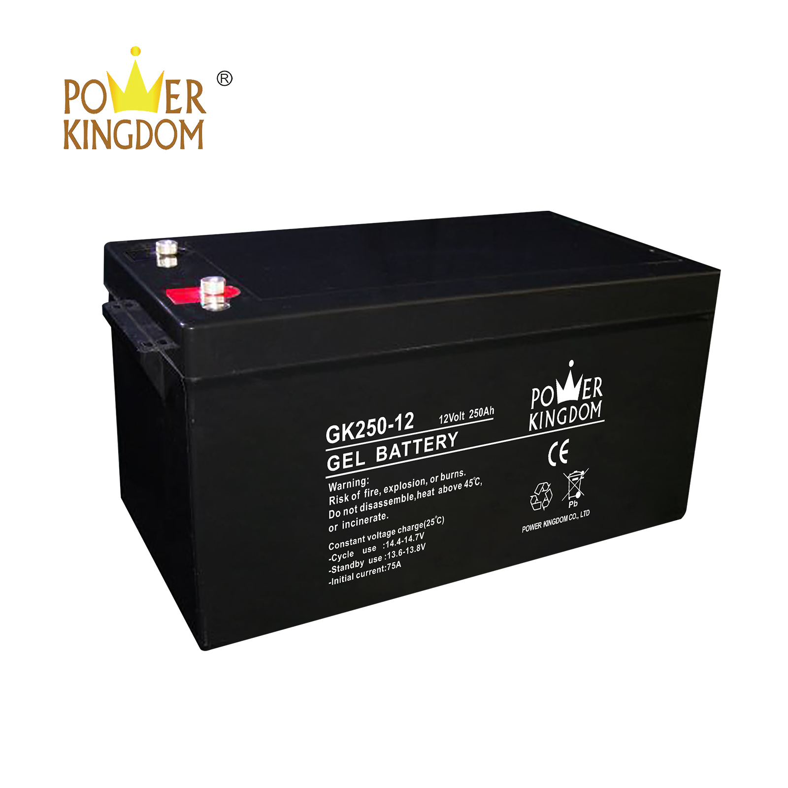Power Kingdom lead acid battery storage manufacturers solor system-2