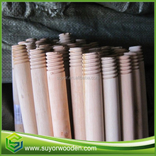 Natural broom handle for broom and extendable broom handle