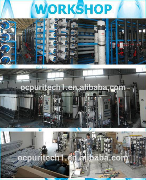 2TPH pretreatment reverse osmosis water purifier equipment with ro filter for industrial