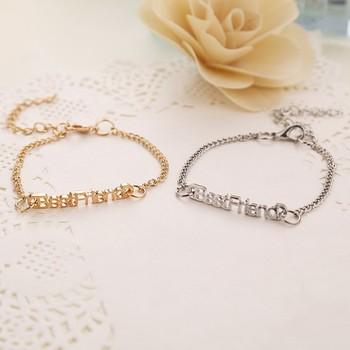 Fashion Metal Gold Friendship Best Friend Bracelets For Girls Buy