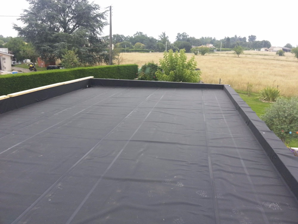 Epdm rubber sheet high quality membrane for roof waterproof buy epdm geomembrane epdm rubber - Advantages using epdm roofing membrane ...
