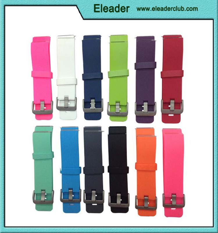 High quality colorful TPE replacement Wristband for Fitbit Blaze Smart Watch