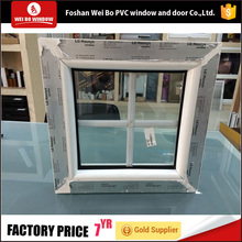 Most popular cheap house fixed glass windows upvc window