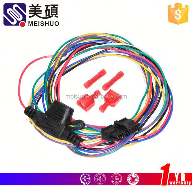 Meishuo 92-95 Engine Wire Harness D15b7 D15 B7 Alternative Components on