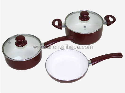 Prestige Non-stick Cookware Set Candy Cooking Pots Food Warmer Hot ...