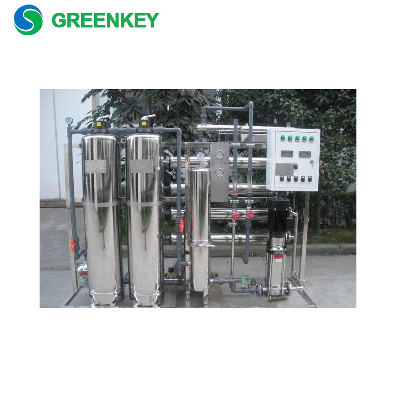 Industrial Reverse Osmosis Membrane Ro Plant 2000 Lph Sewage Water Treatment