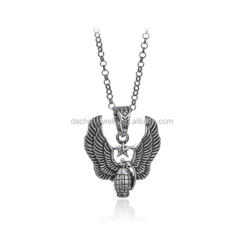 Retro jewelry creative wings pendant silver necklace accessories retro jewelry creative wings pendant silver necklace accessories wholesale bijoux supply aloadofball Gallery