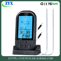 Digital Wireless Remote Kitchen Oven Food Cooking/BBQ Grill Meat Thermometer