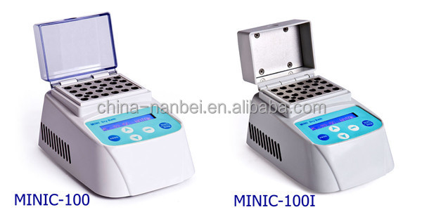 Factory directlt sale MINIC-100 dry bath incubator with LCD screen