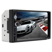 Mobil MP5 USB Player <span class=keywords><strong>Bluetooth</strong></span> 7 inch Touch Screen 2DIN multimedia Stereo Radio Kamera