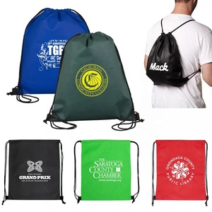 d73ce49f13c6 Wenzhou supply nylon drawstring backpack bag