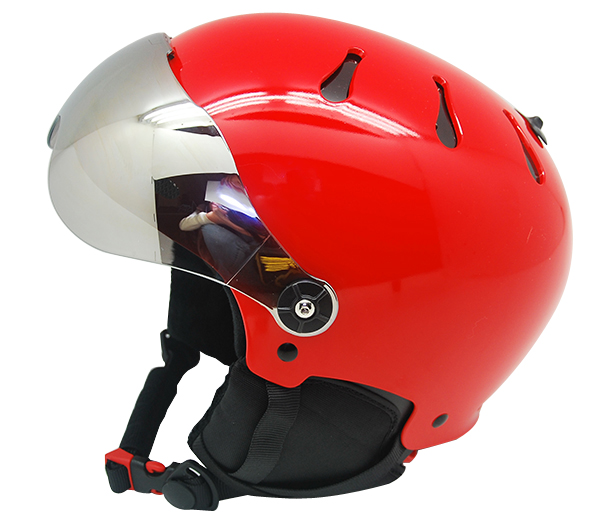Au-s01 Custom Design Adult Snow Sport Safety For Skiing With Goggle Ski Helmet 5