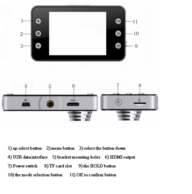 K6000 車 DVR 1080 1080p フル HD ビデオレコーダーダッシュボードカメラ Led ナイトビジョンビデオレコーダー Dashcam サポート TF カード