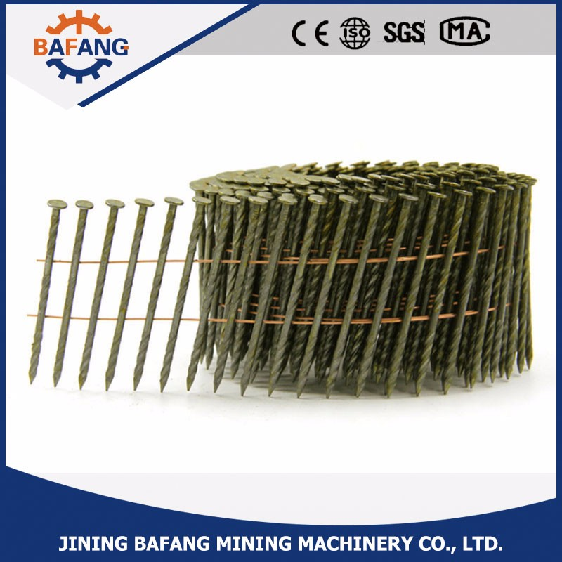 China hot sale coil nails for pallets price with best quality
