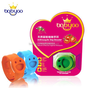 Wholesale Insect Natural Silicone Anti Mosquito Repellent Bracelet