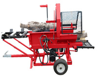Rapid speed Automatic Used Log Splitter LS10 with Electric Engine