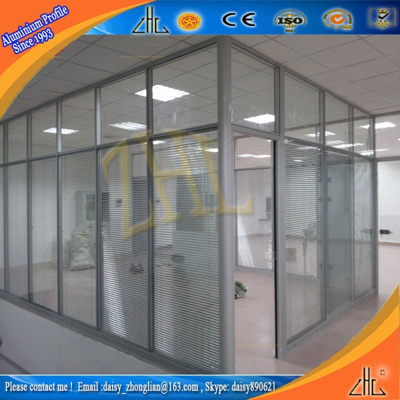 Econ Mico Tabiques De Aluminio Partici N Secci N Perfil De