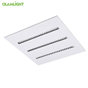 UGR Less16 2x4 LED Troffer Dimmable CCT Changing