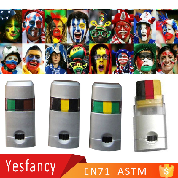 best world cup football fans face painting set sport events face paints germany flag face paint stick