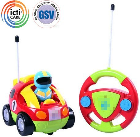 buy cheap RC car toy from China cartoon RC car toy wholesale from icti manufacturer