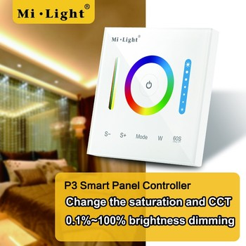 size 40 e5edc a361e Mi Light Newest Wallmounted Touch Panel Led Strip Controller 12v 24v  Rgb/rgbw/rgb+cct Full Touch Wall Switch Control - Buy Wall Touch Panel Led  Strip ...