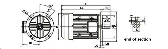 3 Phase 220v Ac Pmsm Magnet Synchronous Motor Free Energy