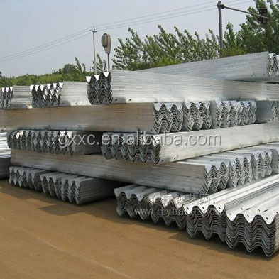 Safety Steel Guardrail On Road/Highway