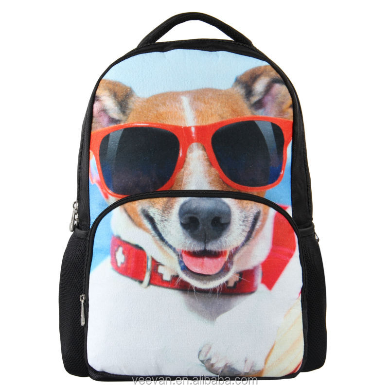 Cool Backpack With Dog Design Cheap Backpacks For Teenage Girls ...