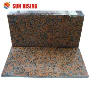 Maple Red Polish Granite Tile G562 Red Granite For Indoor Floor Paver