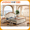 New design high quality king size american style bed
