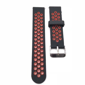 High qualily rubber silicone watch band with quick release spring bar wholesale waterproof rubber diver watch band