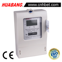 multi user three phase prepaid three phase watt hour meter