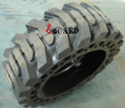 Skid Steer Bobcat Solid Tyre 10-16.5 12-16.5 for Sale Forklift Solid Tire