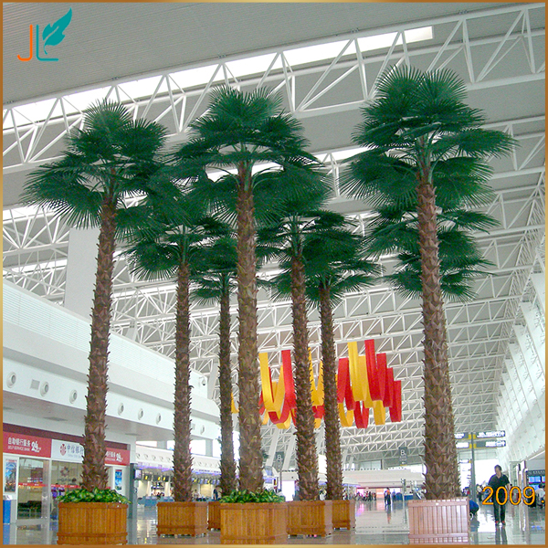Artificial Palm Tree Large Washingtonia Palm Outdoor Application Tree