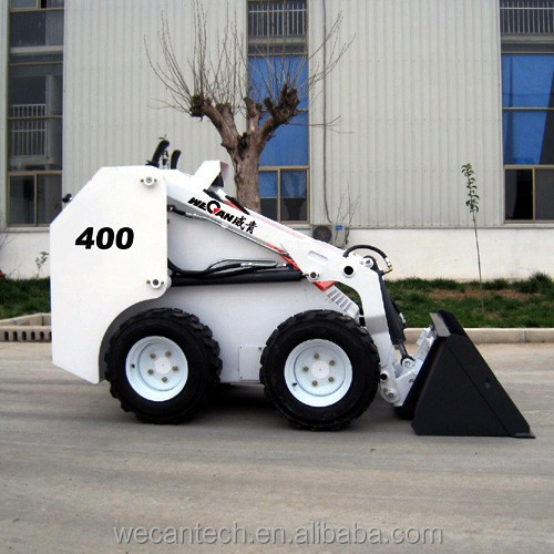 WECAN mini skid steer loader WT400 improved from HY380