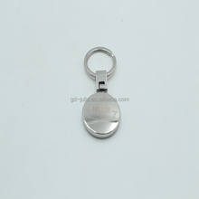 Cheap Round Custom Blank Metal Keychain for Wholesale