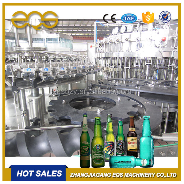 Beer Bottling Equipment 3 in 1 Craft Beer Filling Machine