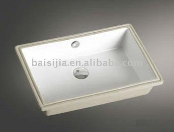 High Quality Square Ceramic Under Counter Basin/bathroom Sink (bsj ...