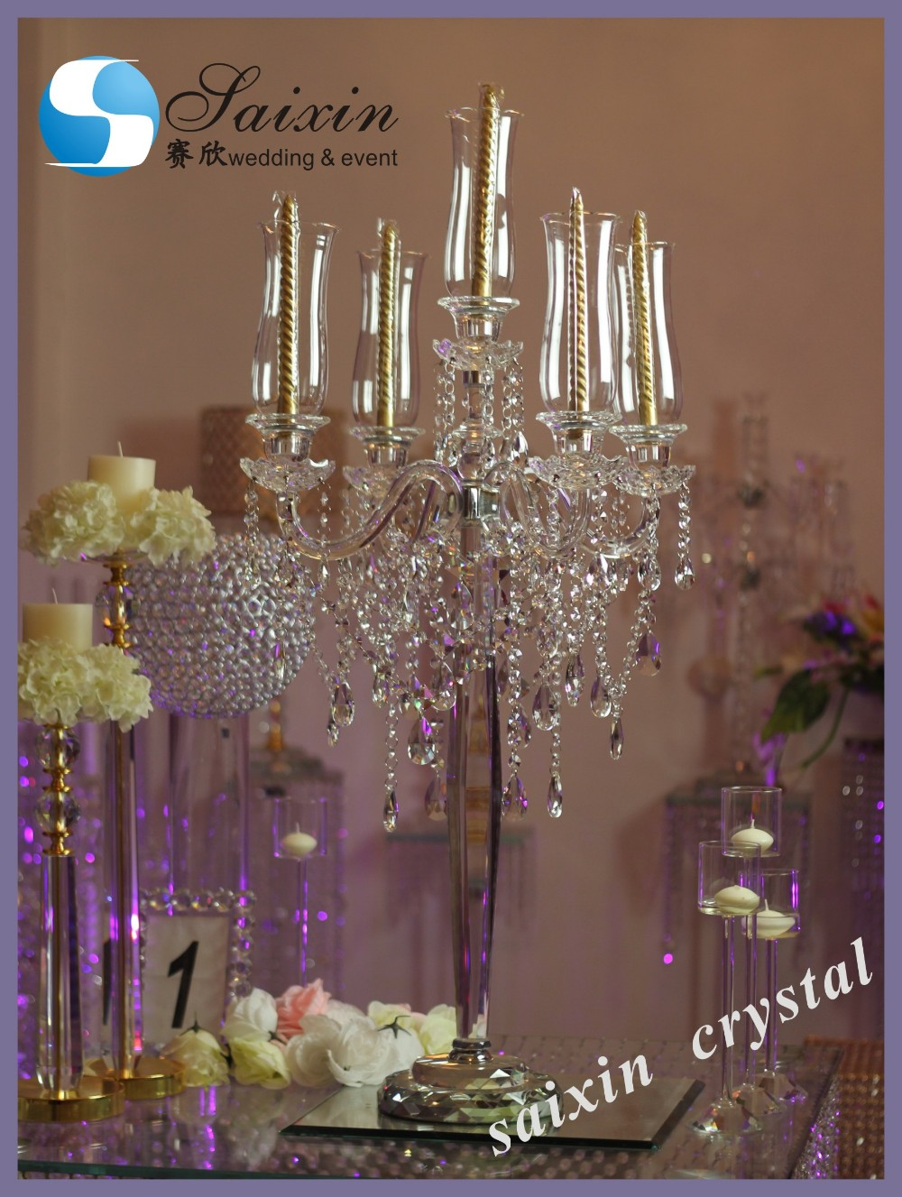 2017 new decoration table top chandelier centerpieces for weddings buy crystal centerpieces. Black Bedroom Furniture Sets. Home Design Ideas