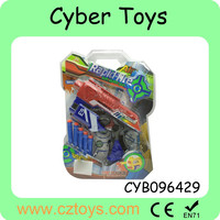 Colorful super quality EVA soft bullet gun toy for children