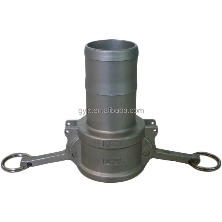 China camlock quick coupling with safety lock