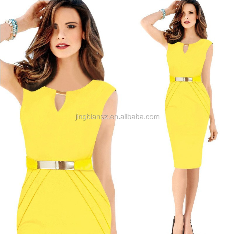 Free Shipping New Design Women Pencil Skirts Por Office Dresses Ocw3805