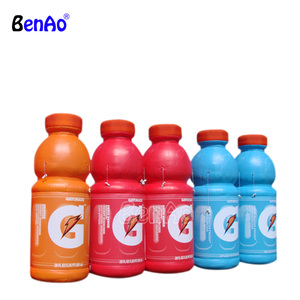 Z802 Inflatable pvc product replica,real inflatable drink bottle models,Inflatable bottle replica for advertising