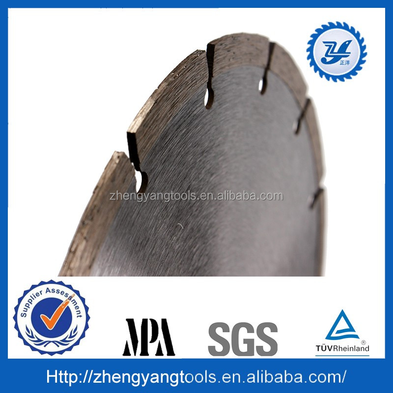 Dry Hot Pressed Diamond segment saw blade for granite ,marble ,concret cutting