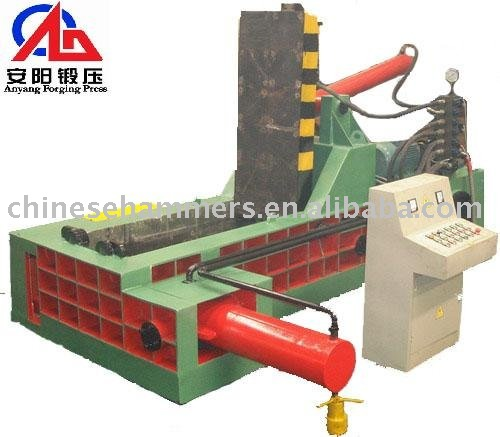 Hydraulic Baler for Metal Scrap Processing
