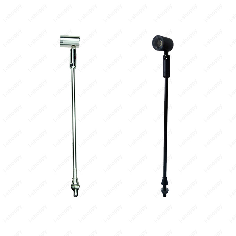 Light Stand Pole: 1W LED Picture Light Desk Lighting Stand Pole Post Lamp