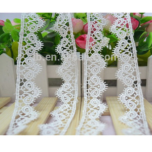 2015 polyester embroidery lace trim forgarment/textiles/decoration